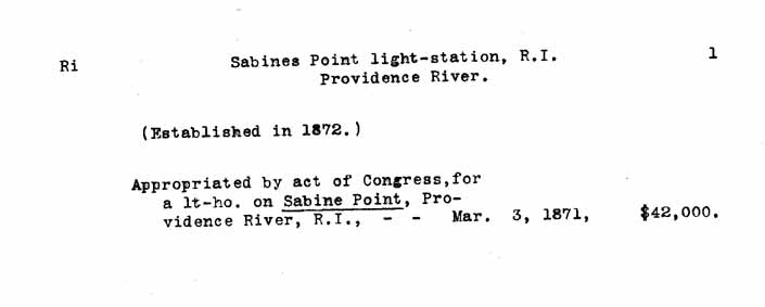 Sabin Point Light - Lighthouse Board Clipping Files - page 1