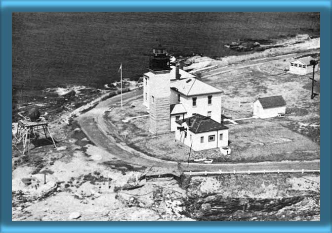 Beavertail Lighthouse 1940's