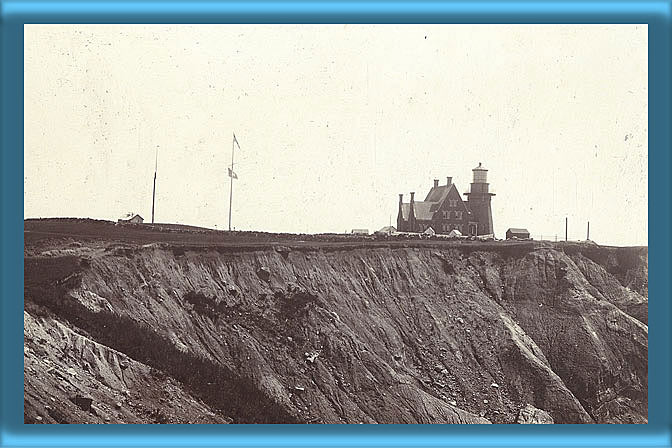 Block Island Southeast Lighthouse and Fog Signal 1880's