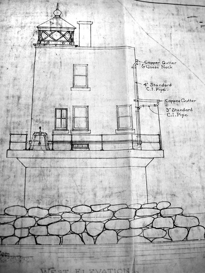 1924 Musselbed Shoal Lighthouse Plan