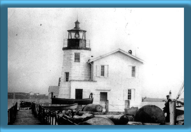 Newport Harbor Lighthouse and Keeper's House