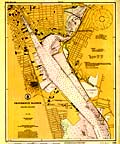 Providence Harbor Nautical Chart - 1925