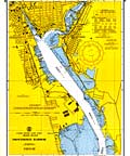 Providence Harbor Nautical Chart - 1967
