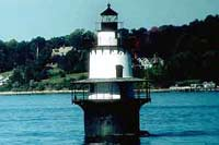 Hog Island Shoal Lighthouse - Rhode Island