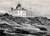 Beavertail Lighthouse in the Early 1900's