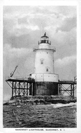 Sakonnet Point Lighthouse Postcard