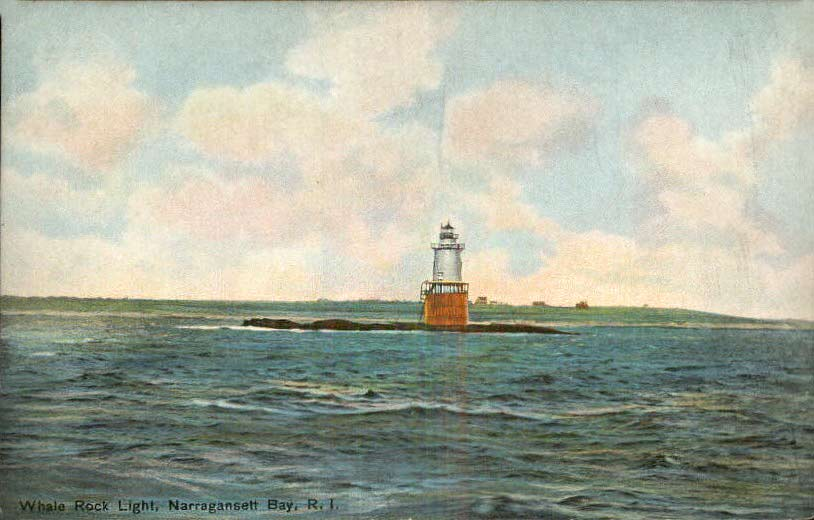 Whale Rock Lighthouse Postcard